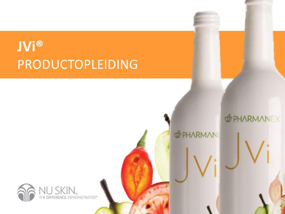 JVi® PRODUCTOPLEIDING