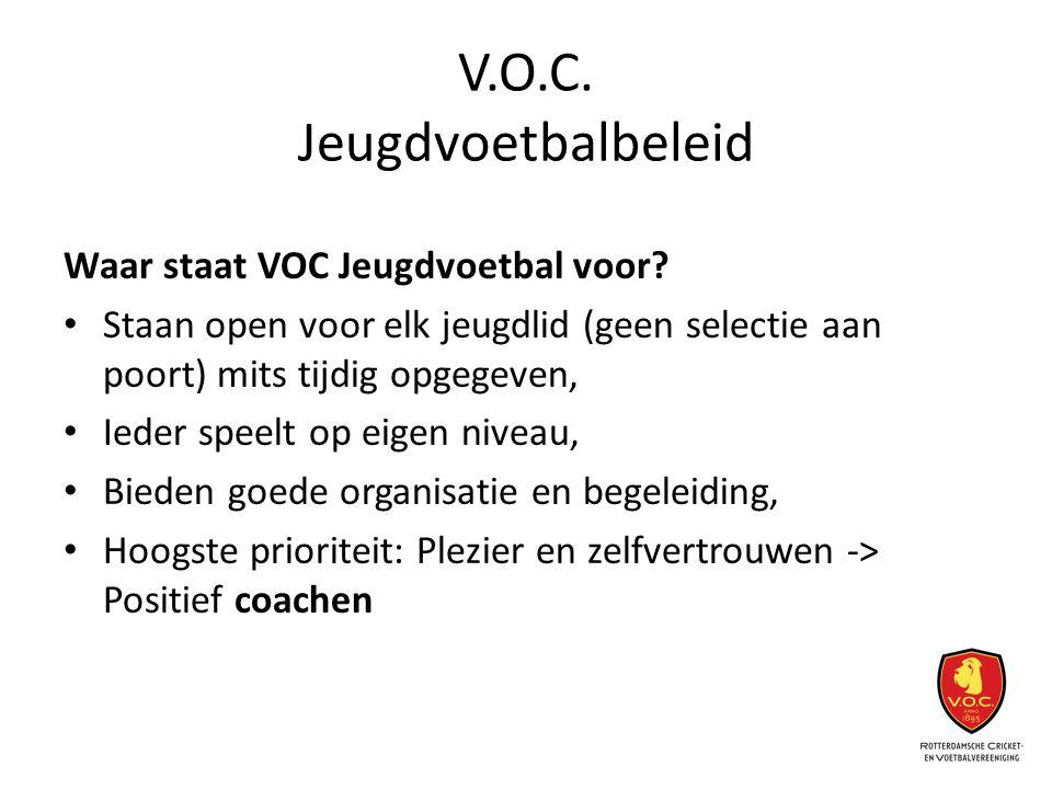 V.O.C. Jeugdvoetbalbeleid