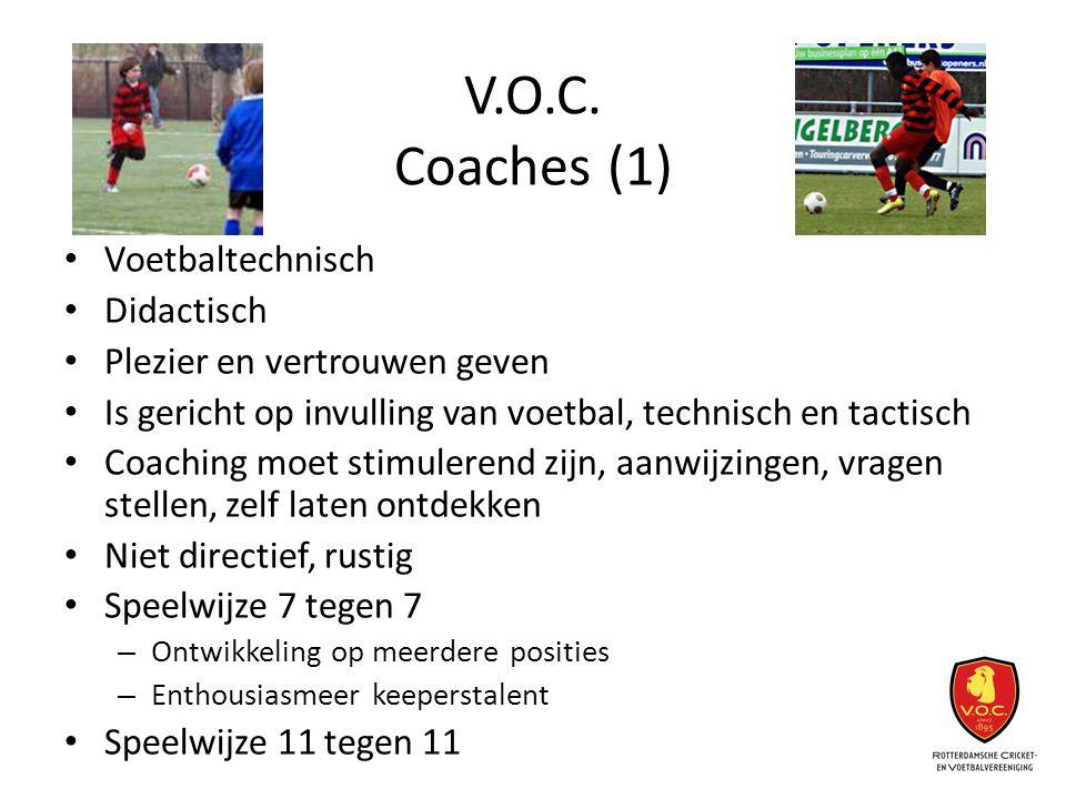 V.O.C. Coaches (1) Voetbaltechnisch Didactisch