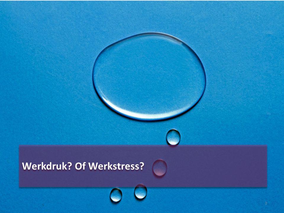 Werkdruk Of Werkstress