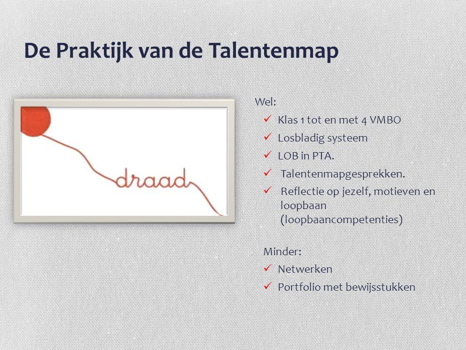 De Praktijk van de Talentenmap