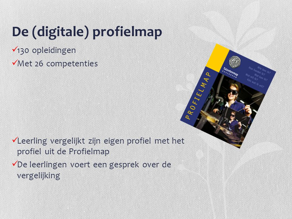 De (digitale) profielmap