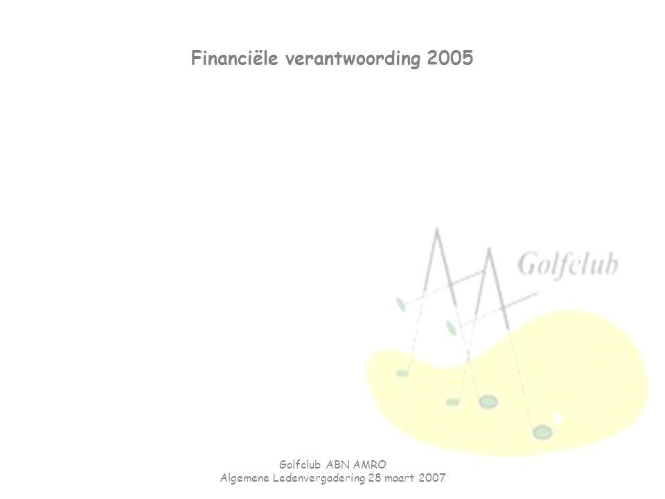 Financiële verantwoording 2005