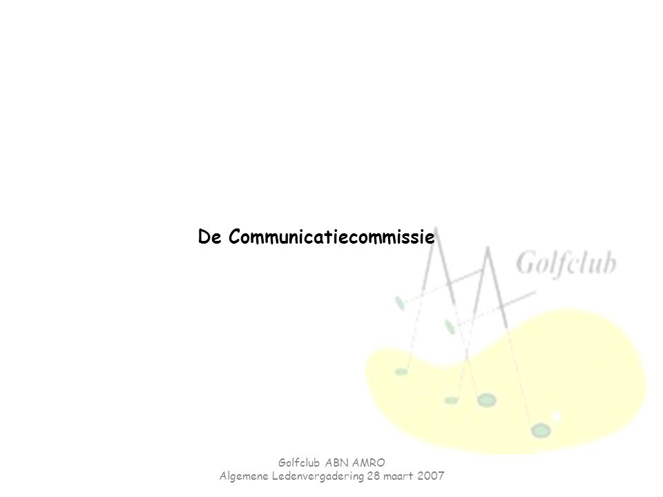 De Communicatiecommissie