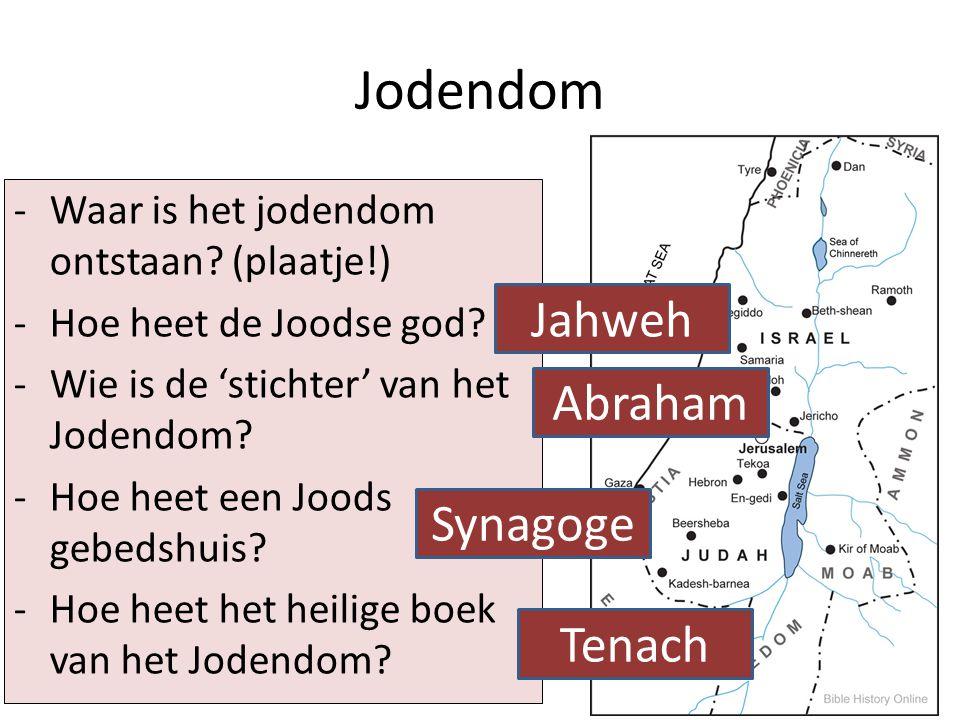 Jodendom Jahweh Abraham Synagoge Tenach