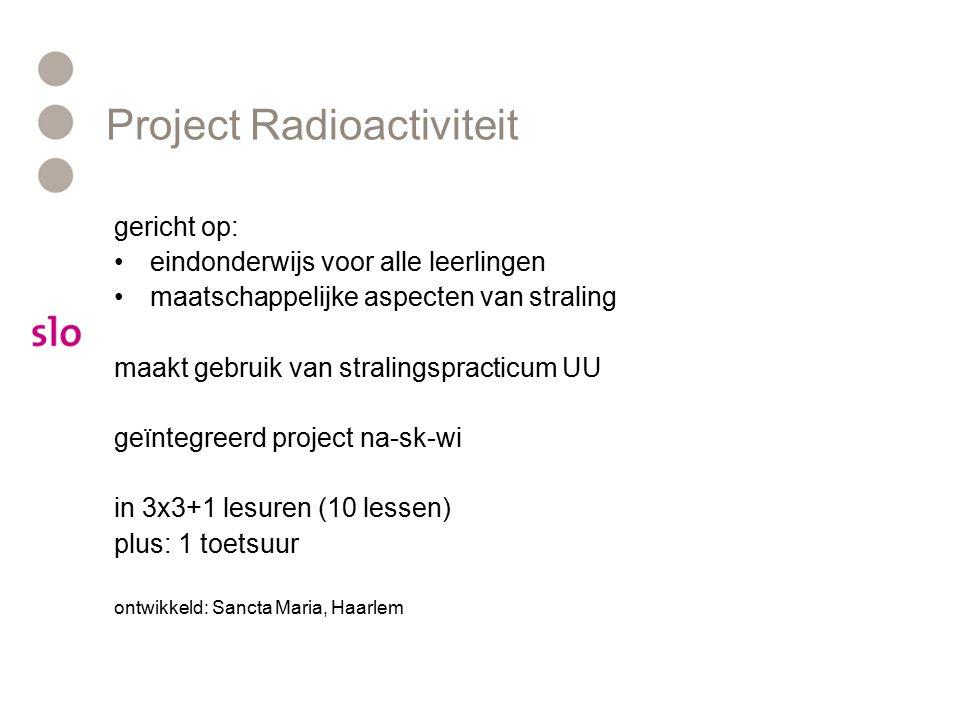 Project Radioactiviteit