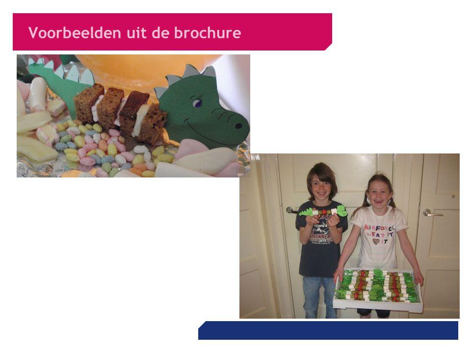 Voorbeelden uit de brochure