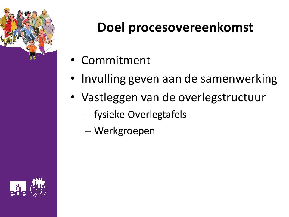 Doel procesovereenkomst
