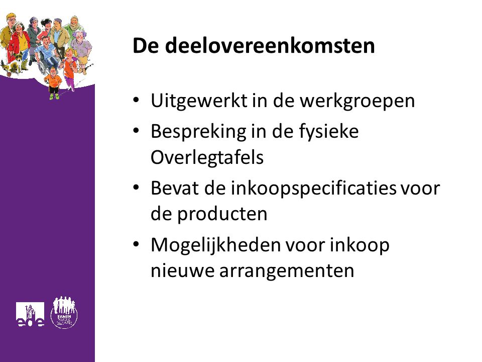 De deelovereenkomsten