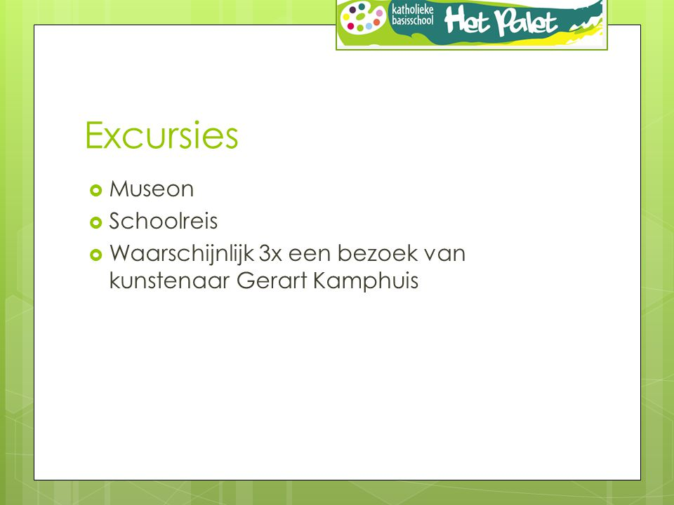 Excursies Museon Schoolreis