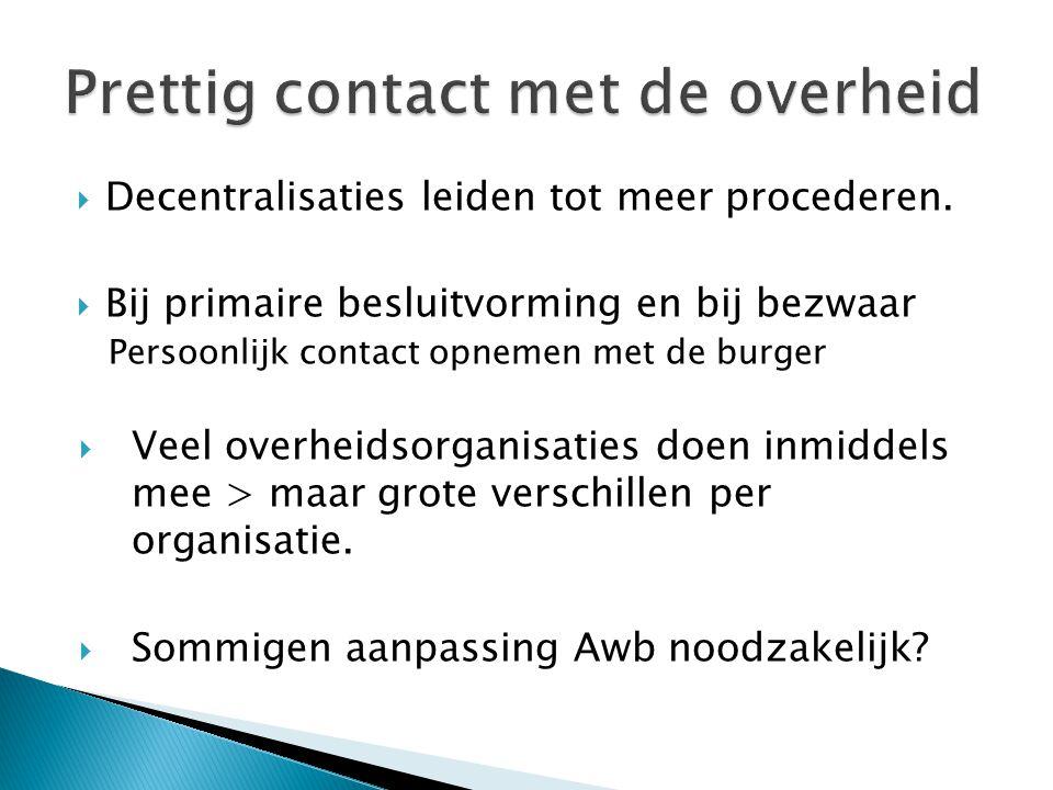 Prettig contact met de overheid