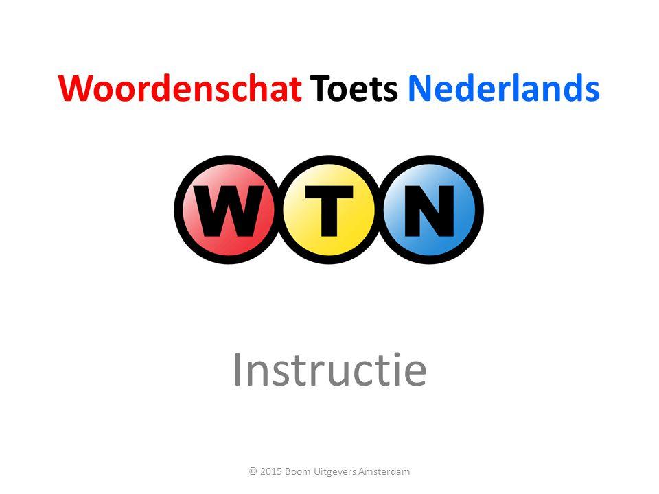 Woordenschat Toets Nederlands