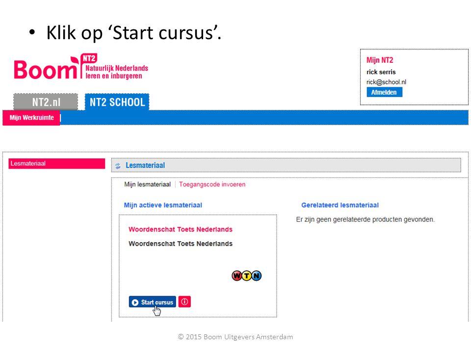 © 2015 Boom Uitgevers Amsterdam