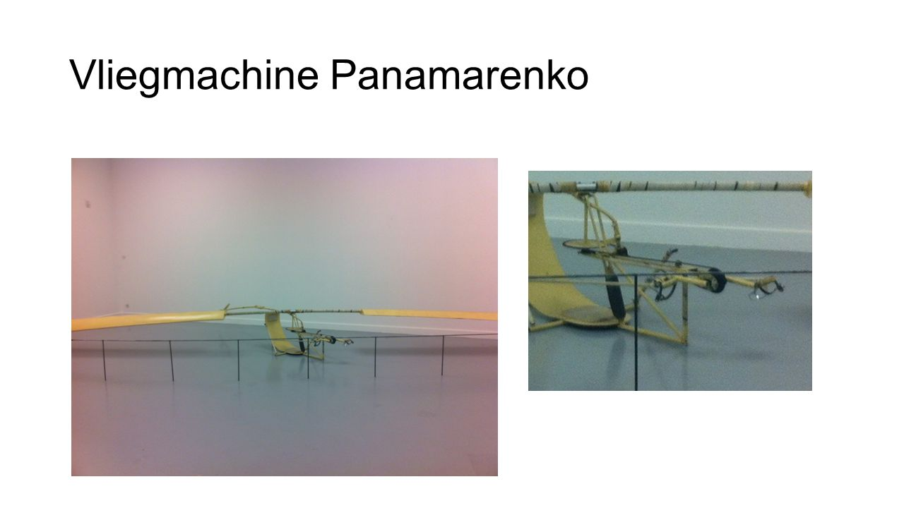 Vliegmachine Panamarenko