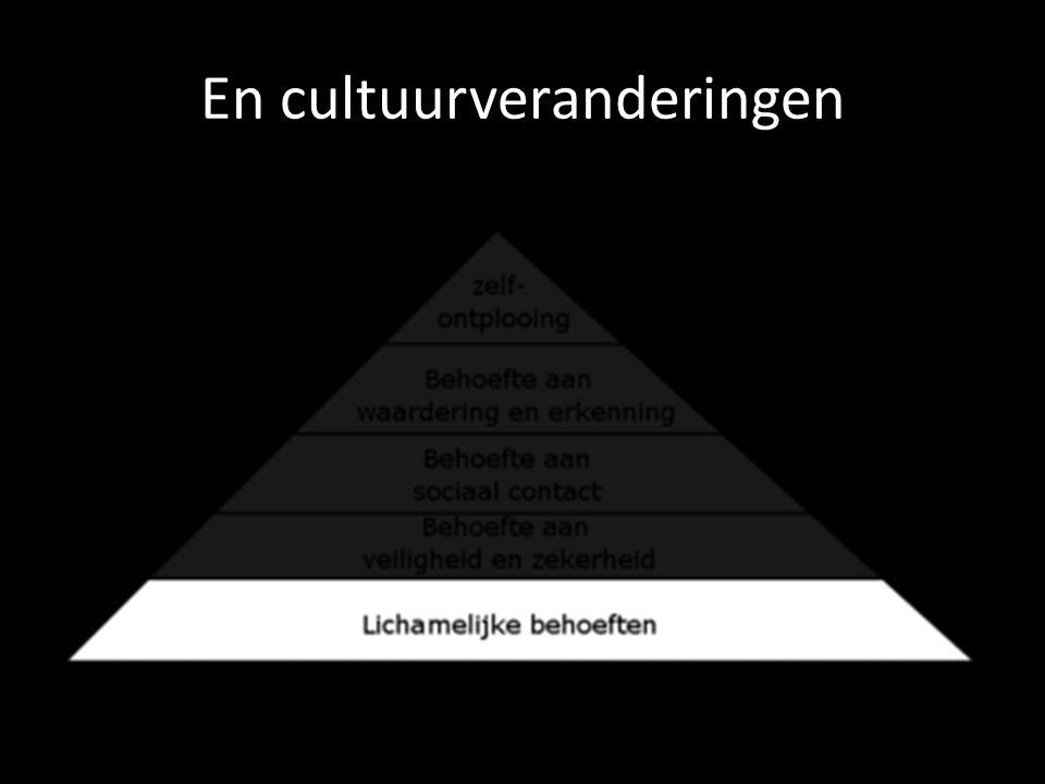 En cultuurveranderingen