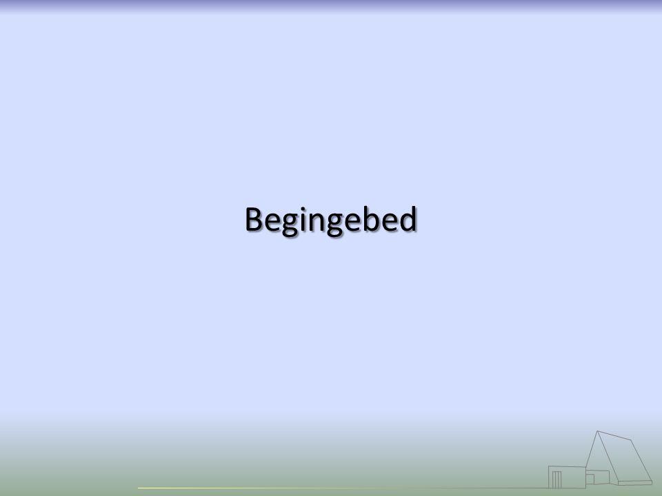 Begingebed