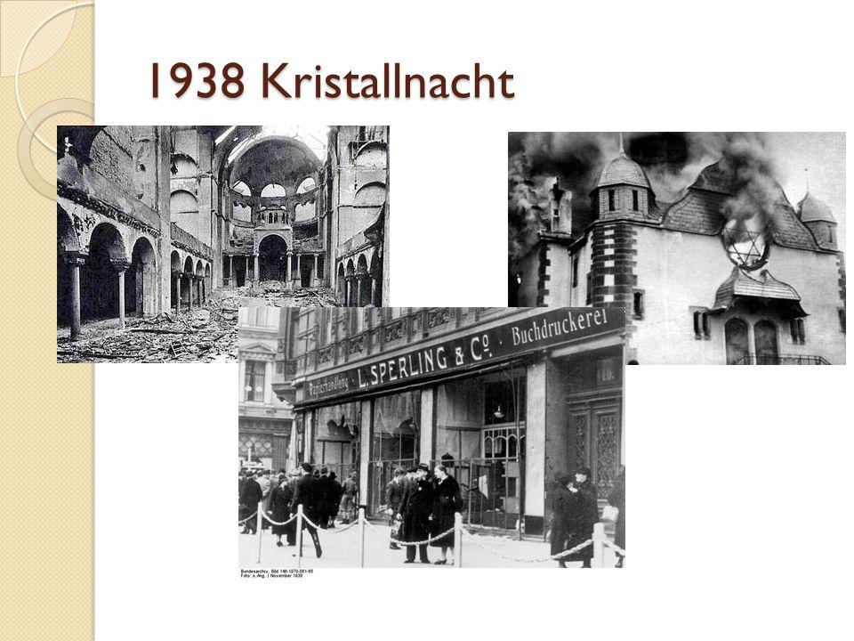 1938 Kristallnacht