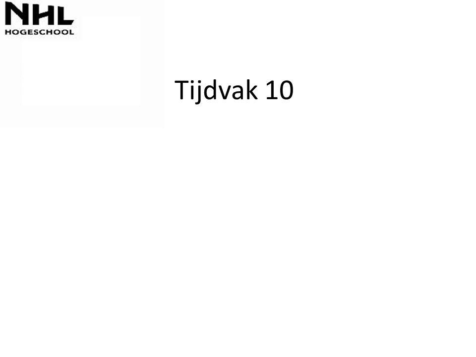 Tijdvak 10