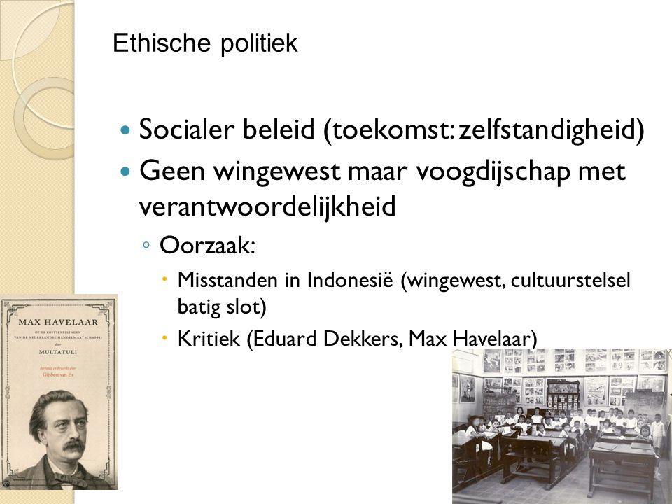 Socialer beleid (toekomst: zelfstandigheid)
