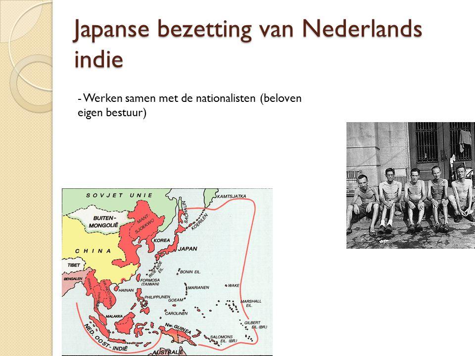 Japanse bezetting van Nederlands indie