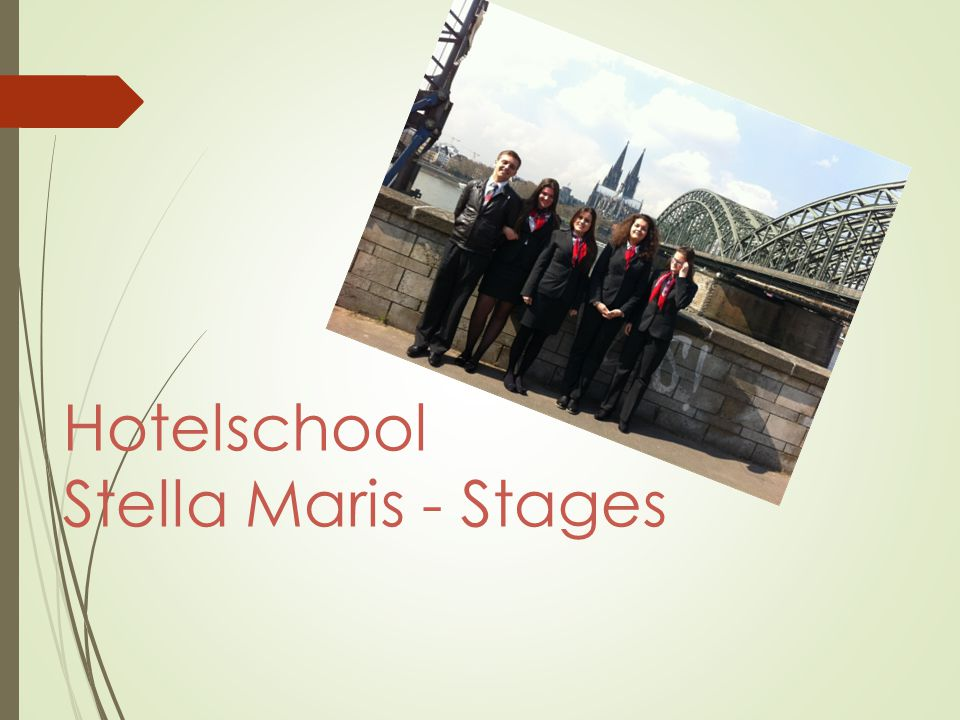 Hotelschool Stella Maris - Stages