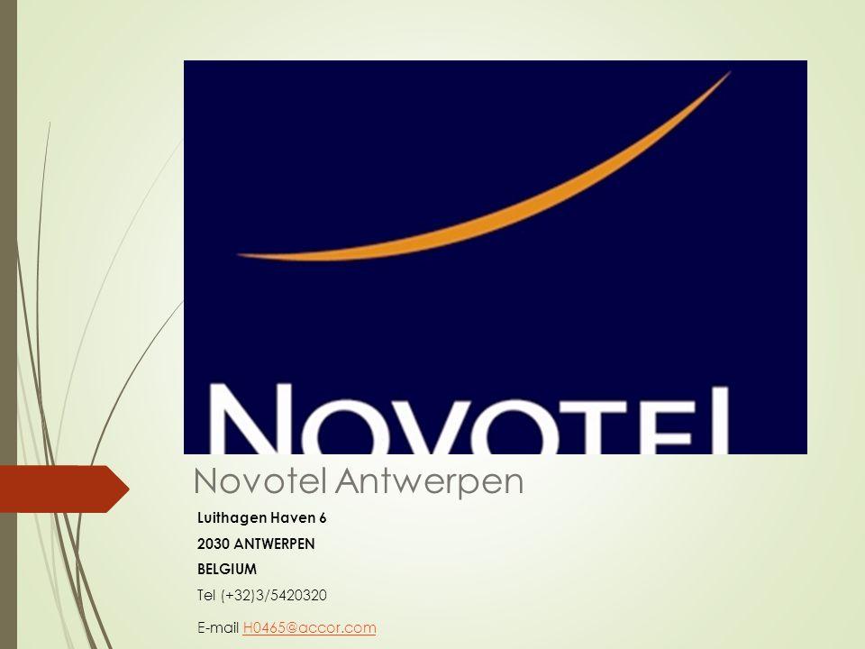 Novotel Antwerpen Luithagen Haven 6 2030 ANTWERPEN BELGIUM