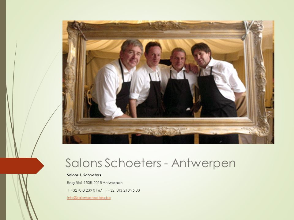 Salons Schoeters - Antwerpen