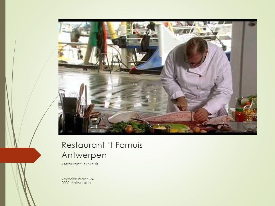 Restaurant 't Fornuis Antwerpen