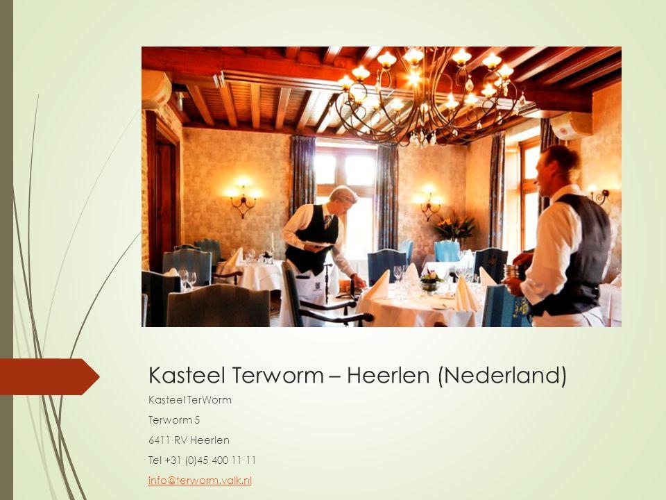 Kasteel Terworm – Heerlen (Nederland)