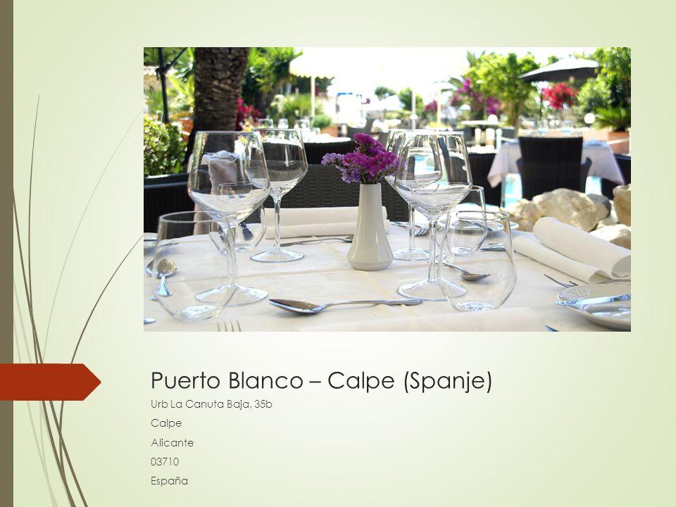 Puerto Blanco – Calpe (Spanje)