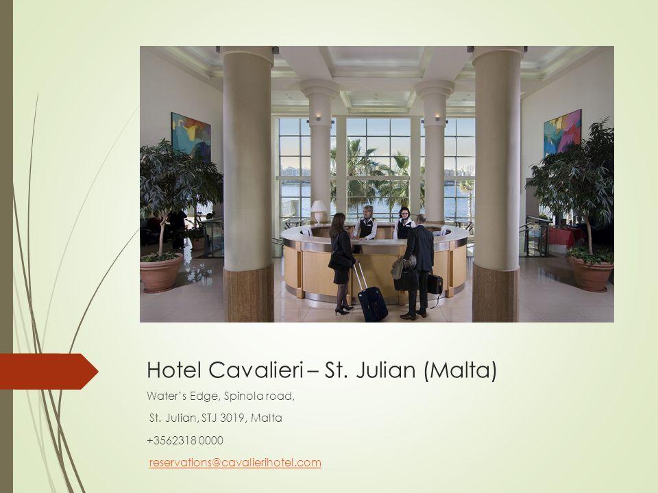 Hotel Cavalieri – St. Julian (Malta)