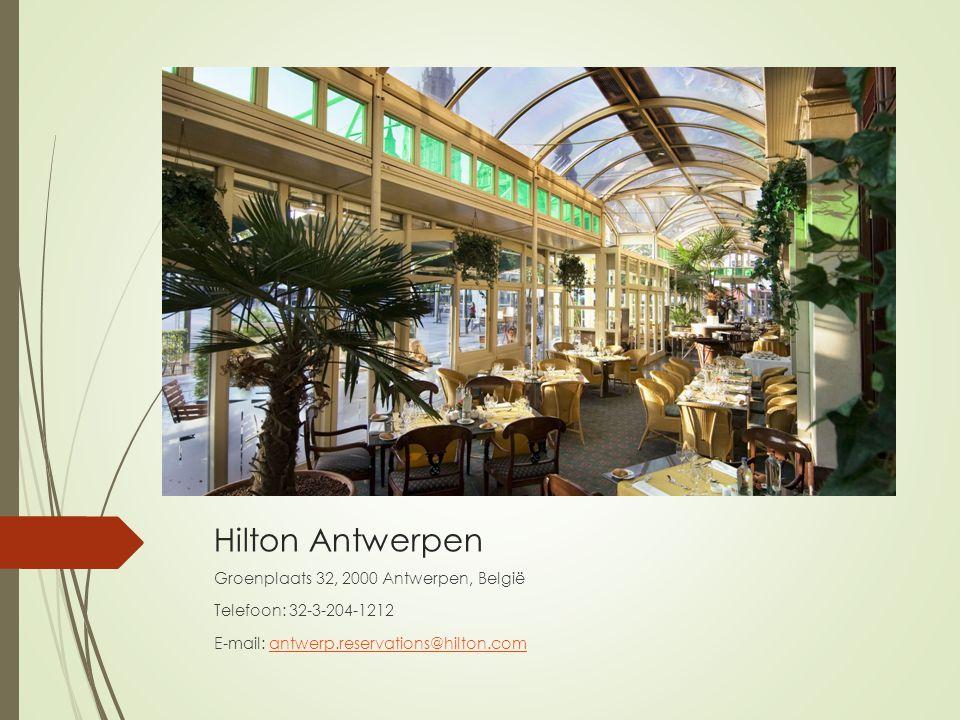 Hilton Antwerpen Groenplaats 32, 2000 Antwerpen, België