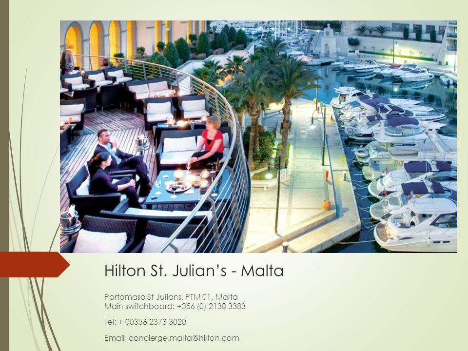 Hilton St. Julian's - Malta
