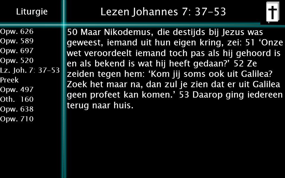 Lezen Johannes 7: 37-53