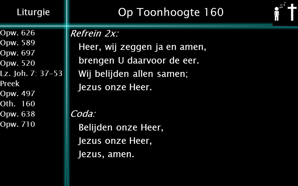 Op Toonhoogte 160