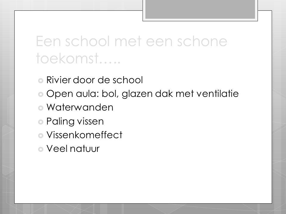 Een school met een schone toekomst…..