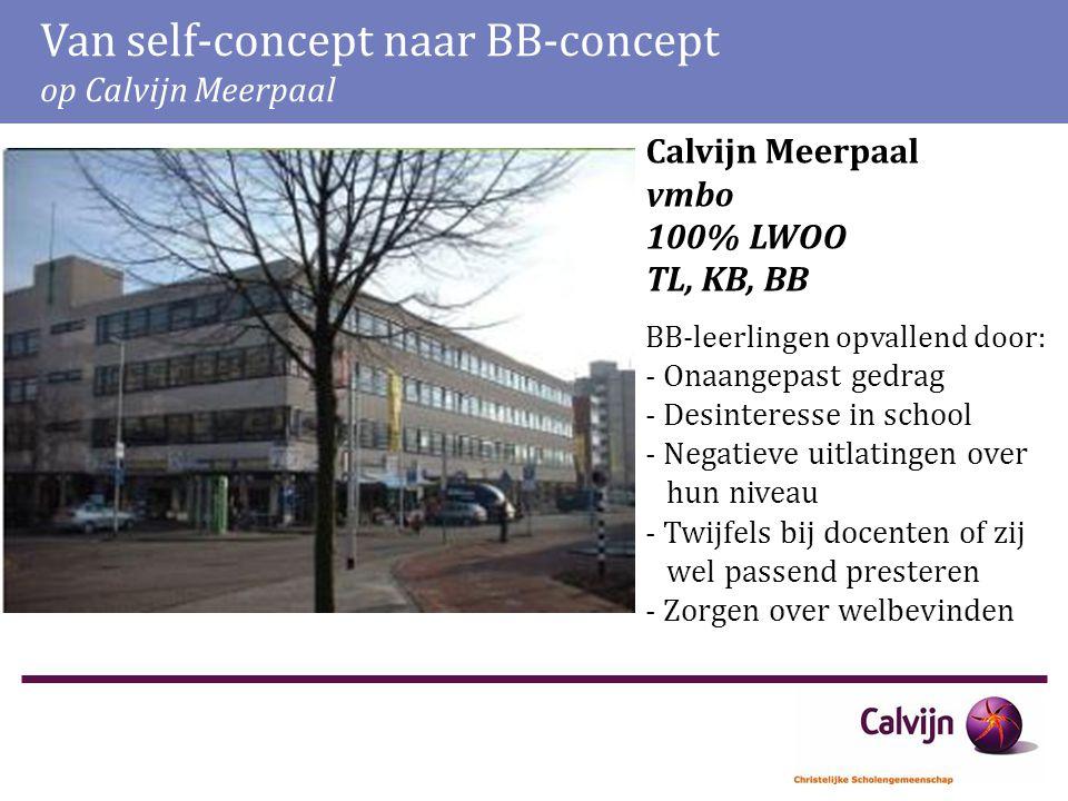 Van self-concept naar BB-concept op Calvijn Meerpaal