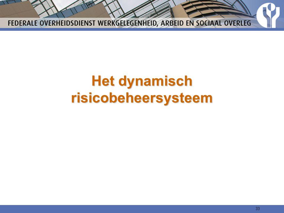 Het dynamisch risicobeheersysteem