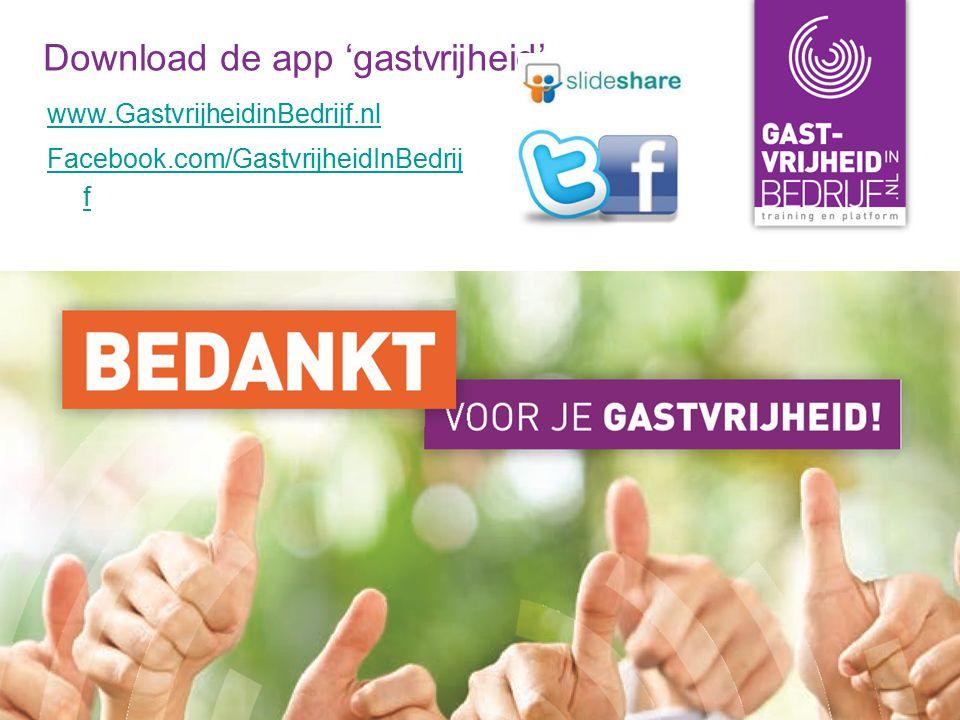 Download de app 'gastvrijheid'