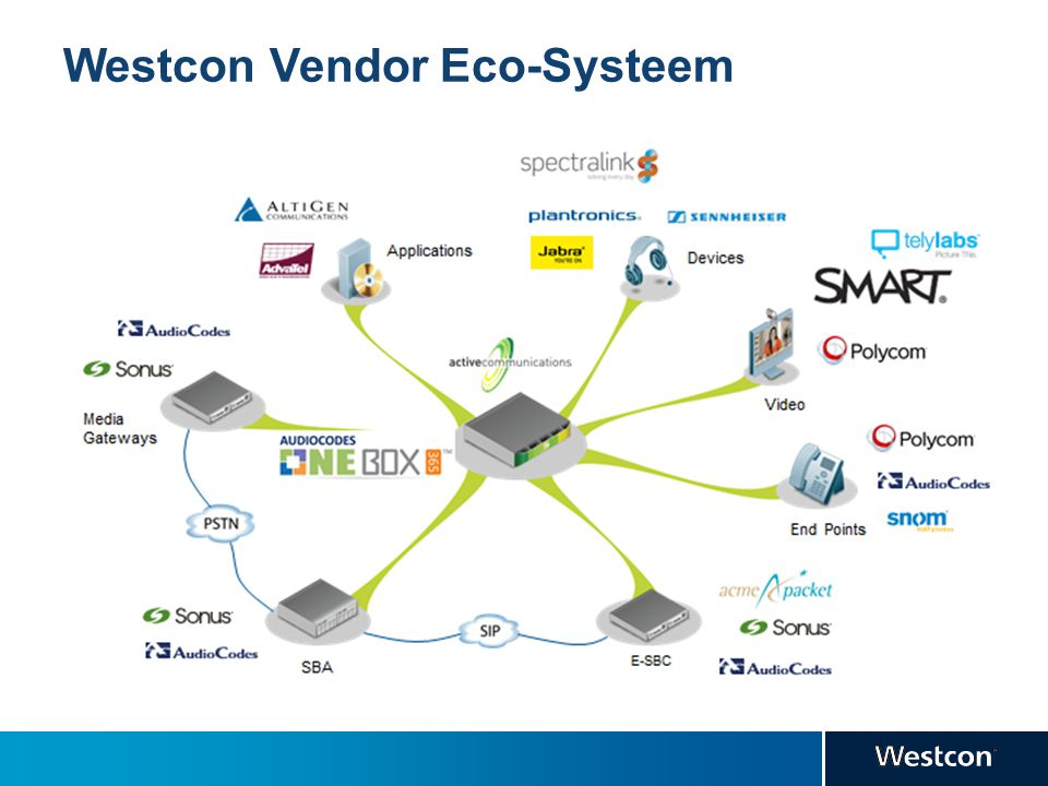 Westcon Vendor Eco-Systeem