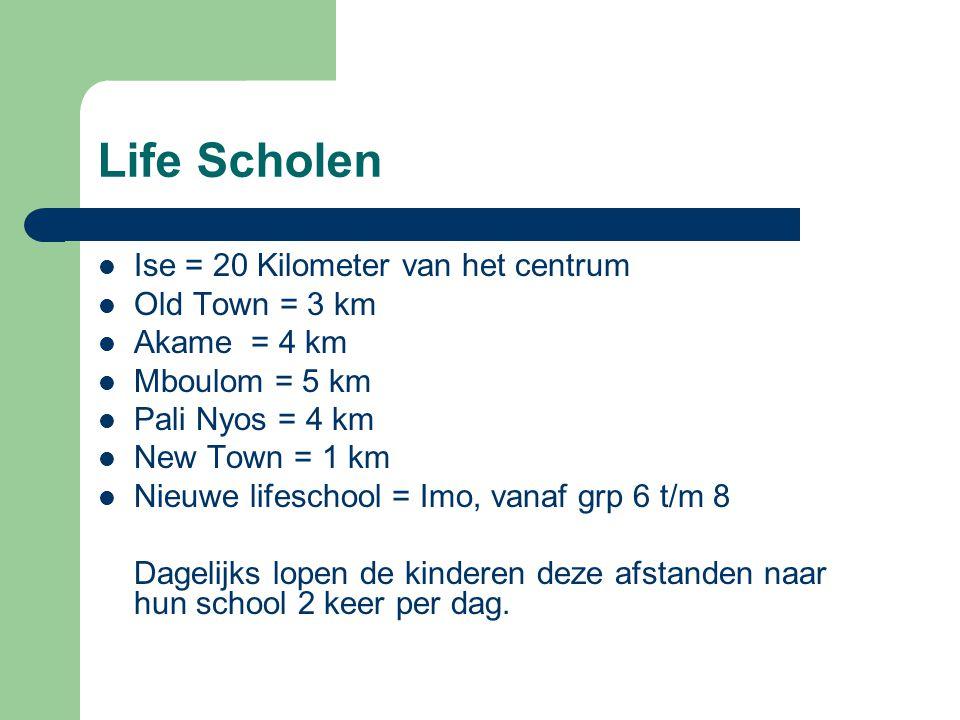 Life Scholen Ise = 20 Kilometer van het centrum Old Town = 3 km
