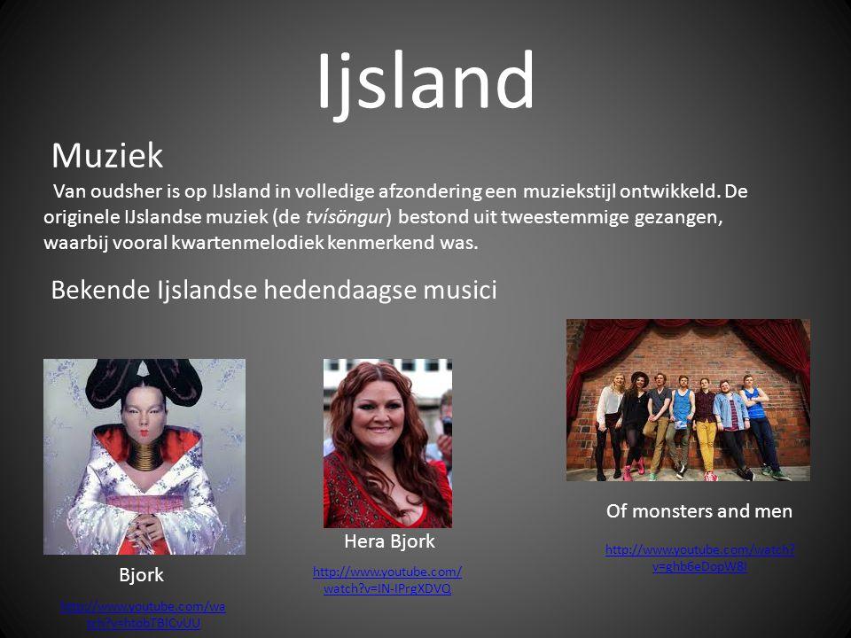Ijsland Muziek Bekende Ijslandse hedendaagse musici