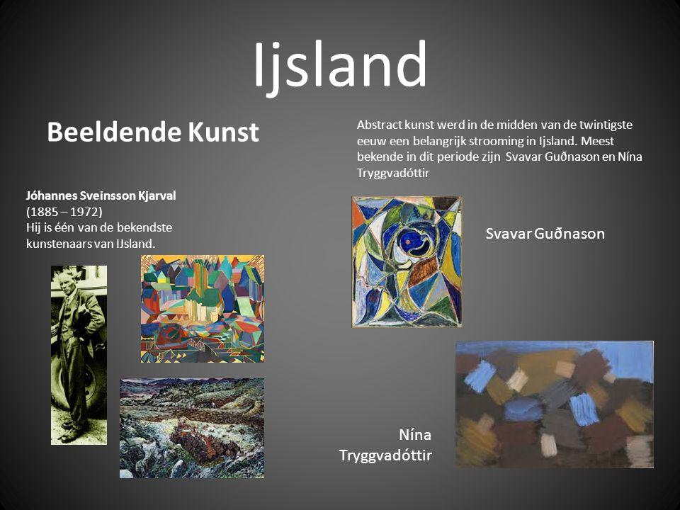 Ijsland Beeldende Kunst Svavar Guðnason Nína Tryggvadóttir
