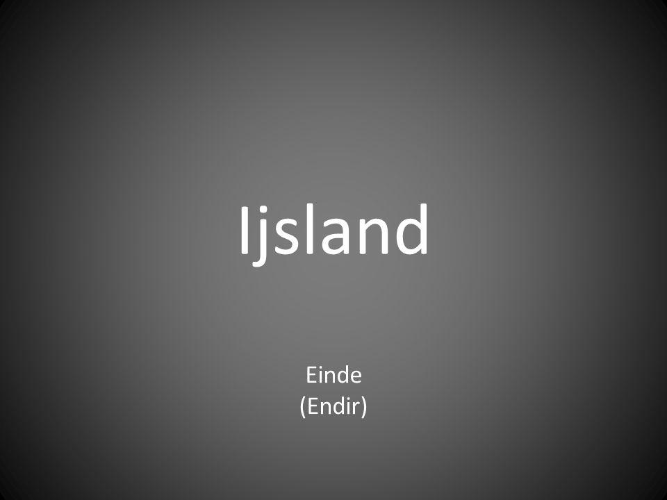 Ijsland Einde (Endir)