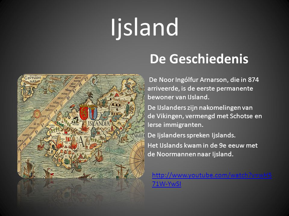 Ijsland De Geschiedenis