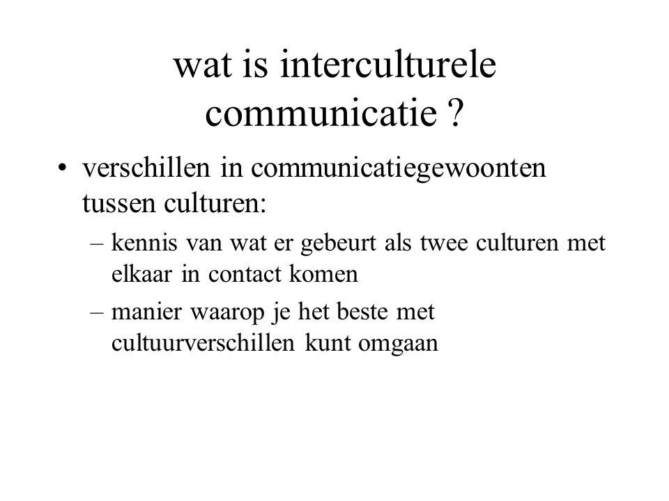wat is interculturele communicatie