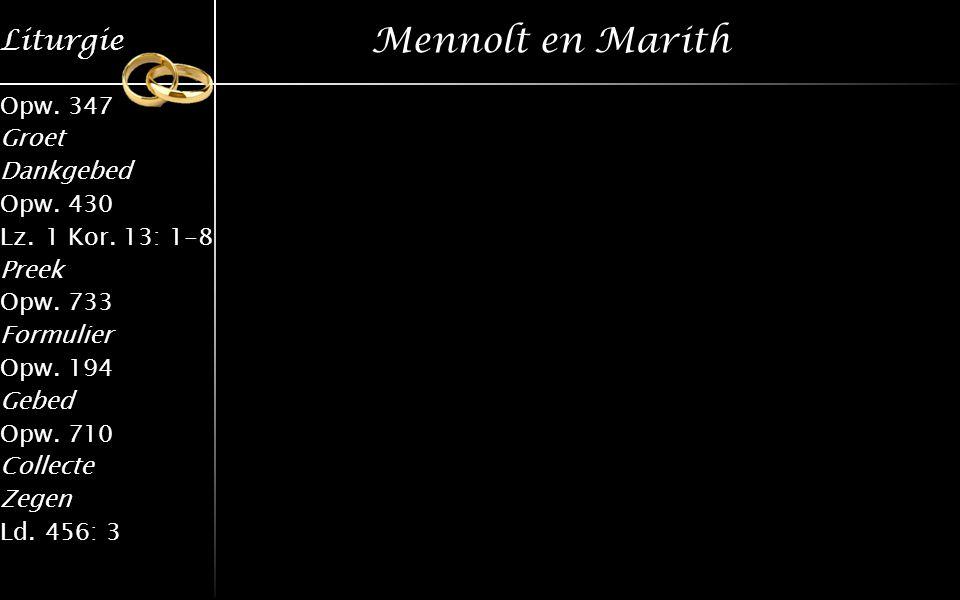 Mennolt en Marith