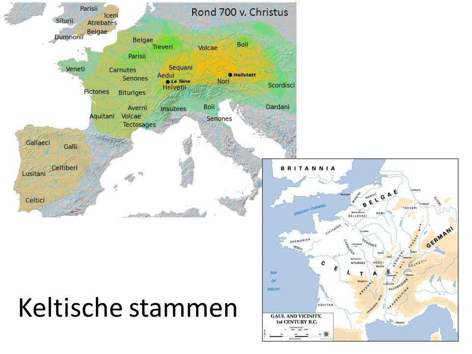 Rond 700 v. Christus Keltische stammen