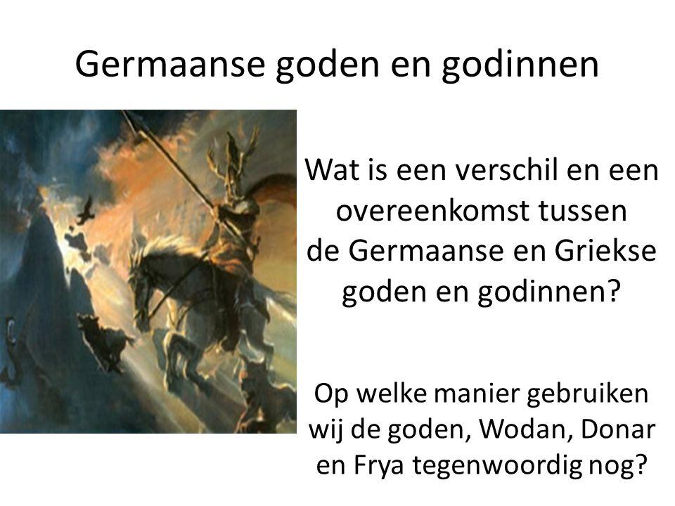 Germaanse goden en godinnen
