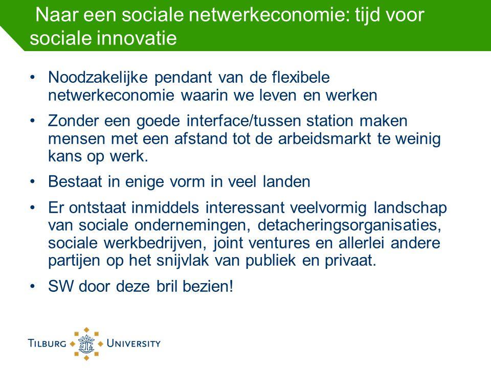 Naar een sociale netwerkeconomie: tijd voor sociale innovatie